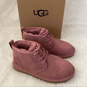 New UGG Neumel Chukka Boots Pink Dawn 8